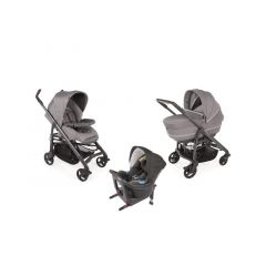 Chicco Trio Love Up Isize Cool Grey