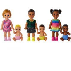 Barbie Skipper Babysitters Doll Assortiment Per Stuk