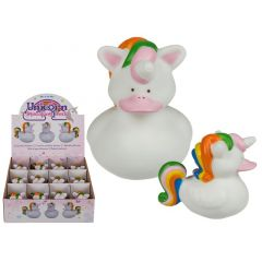 Out of the blue Unicorn Squeaking Duck 7.5Cm