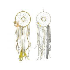 Rope Dreamcatcher W Hanger2Cls Assorted 2X17X55Cm