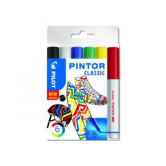 Pilot Pintor Set Fine 6 Stuks Classic