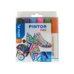 Pilot Pintor Set Medium 6 Stuks Creative