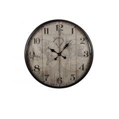 Hamilton Clock A Map Of The World