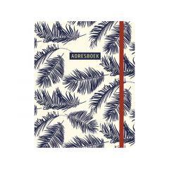Adresboek Botanical Blue