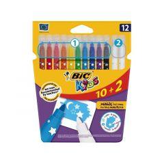 Bic Kids Magic Felt Pens 10+2