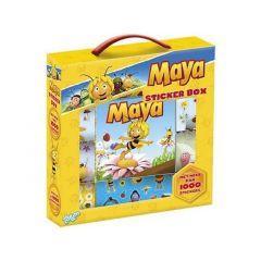 Maja De Bij Stickerbox - 12 Rolls + Booklet