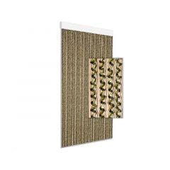 Gordijn Kunststof Astro 90X210 Cm Olijf Groen