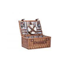 Cosy & Trendy Picknickmand 4P-Bestek Borden Glazen