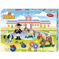 Hama Gift Box Paardrijschool 4000Stuks