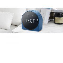 Muse M 185 Cbl Clock Radio/Blue
