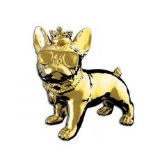 Idance Funky Bull/Bt Speaker/Dog Design/Gold