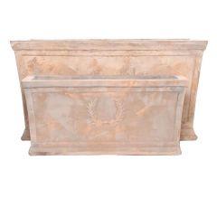 Bloembak 72X33X37Cm Terracotta Antiek Bruin (groot)