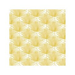 Braun   1209-19101   Leaf Pattern Gold 25X25Cm