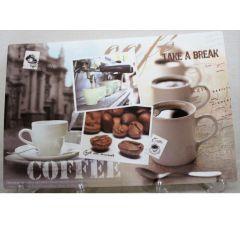 Placemat Retro Cafe 45X30Cm