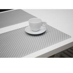 Finesse Placemat Uni 30X43Cm Zafiro Silver