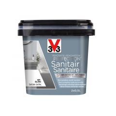 V33 Perfection Sanitair Satijn 1L Wit