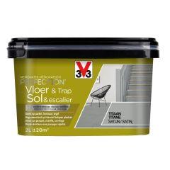 V33 Perfection Vloer&Trap Satijn 2L Titaan