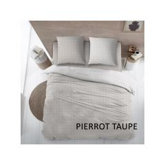 Dbo Kat Pierrot Taupe 200X220+2