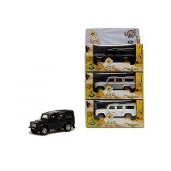 Kids Globe Land Rover Die Cast 14Cm 3 Assortimenten Prijs Per Stuk