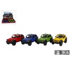 Die Cast Pull Back Jeep Wrangler 4 Assortimenten Prijs Per Stuk
