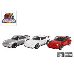 Die Cast Pull Back Porsche 911 Turbo 3 Assortimenten Prijs Per Stuk