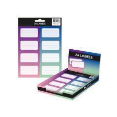 Colorz Etiketten A5 24/