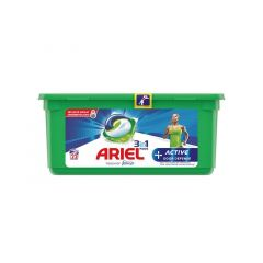 Ariel 3In1 Pods+ Active 22St