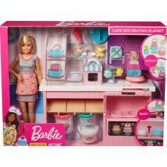 Barbie Bakker Met Taartdecoratie