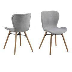 Batilda Dining Chair Rio Light Grey 180