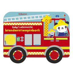 Baby's Allereerste Brandweerwegenboek