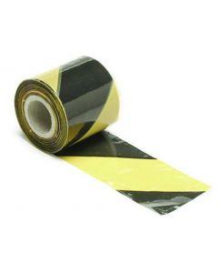 Geel/zwart signalisatielint - 250m