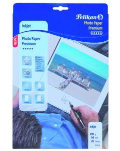 Pelikan Photo Paper Premium 290Gr 20Bl A4