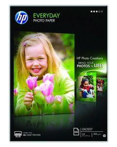 Hp Fotopapier Everyday 100V 200Gr A4