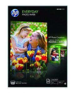 Hp Fotopapier Everyday 25V 200Gr A4