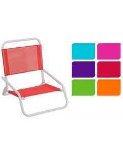 Strandstoel Laag 6Ass Kleur