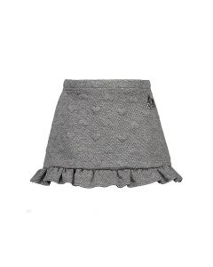 Le Chic W18 Skirt Relief Sweat With Ruffle  62