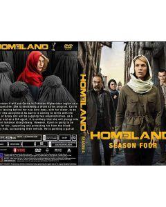 Dvd Homeland Seizoen 4
