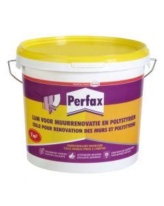 Perfax Lijm voor muurrenovatie en polystyreen 7kg