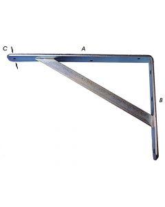 Plankdragers Hoekig Verzinkt 300X200Mm