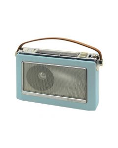 Roadstar Tra1966 Vintage Portable Radio Blue