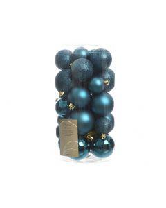 K Sh.Proof Mixtube A 30 Sh-M-Gli Petrol Blue Assorted