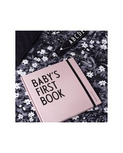 Design Letters Baby'S First Book Pink