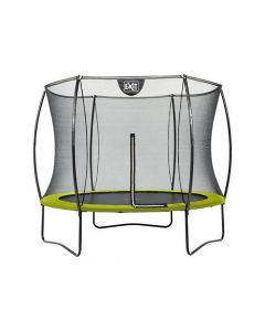 Exit Silhouette Trampoline + Safetynet 305Cm Lime