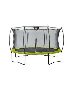 Exit Silhouette Trampoline + Safetynet 427Cm Lime