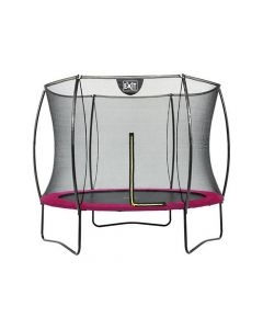 Exit Silhouette Trampoline + Safetynet 244Cm Pink