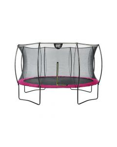 Exit Silhouette Trampoline + Safetynet 366Cm Pink