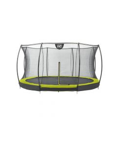 Exit Silhouette Ingraaf Trampoline + Safetynet 366Cm Lime