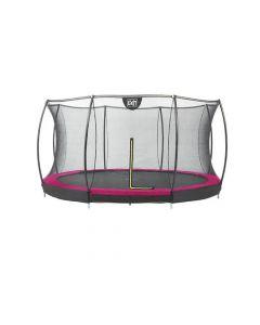 Exit Silhouette Ingraaf Trampoline + Safetynet 427Cm Pink