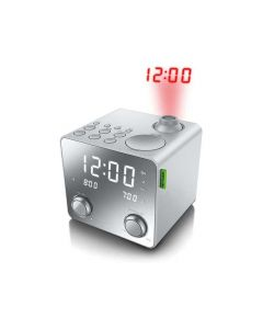 Muse M 189 Pmr Clock Radio With Projector / Mirror