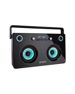 Ion Spectraboom Bluetooth Boombox With Led Light Effects